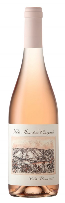 Fable Mountain Vineyards Belle Flower Rosé 2017