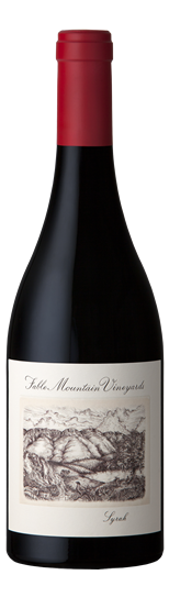 Fable Mountain Vineyards Syrah 2014