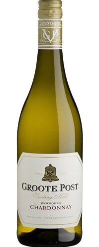 Groote Post Unwooded Chardonnay 2018
